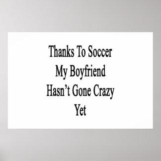 Os obrigados ao futebol meu namorado não têm o YE Pôster