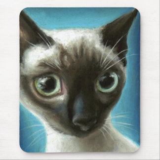 Os olhos têm-no mouse pad