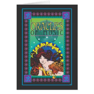 Os Oracles da música Cartão Comemorativo