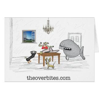 Os Overbites Cartão