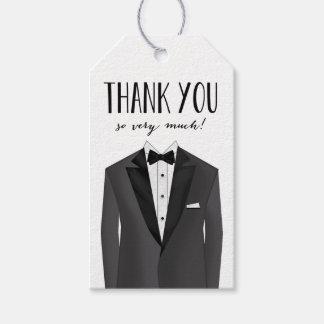 Os padrinhos de casamento agradecem-lhe Tag do