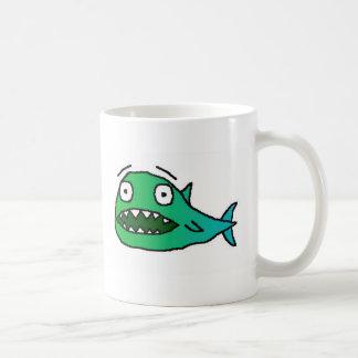 Os peixes de Bitey Caneca