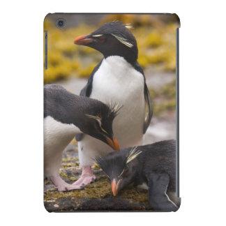 Os pinguins de Rockhopper comunicam-se um com o Capa Para iPad Mini Retina