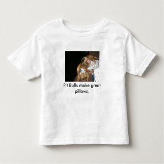 Os pitbull fazem grandes descansos camiseta infantil