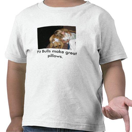 Os pitbull fazem grandes descansos camisetas