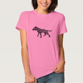 Os pitbull são camisa bonita camiseta