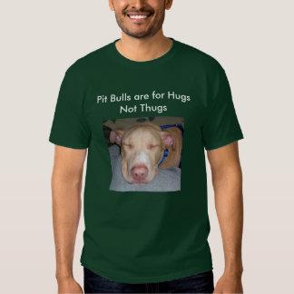 Os pitbull são para vândalos dos abraços não tshirts