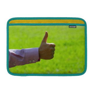 """Os polegares levantam 11"""" ar bolsa para MacBook air"""