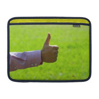 "Os polegares levantam 13"" sleeve para MacBook air"