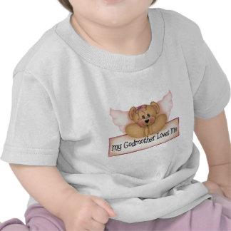 Os presentes das crianças da madrinha tshirts