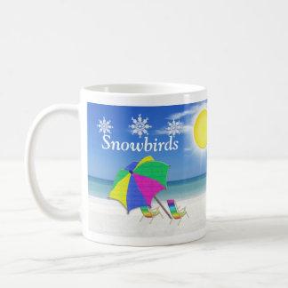 Os presentes do Snowbird, encalham canecas