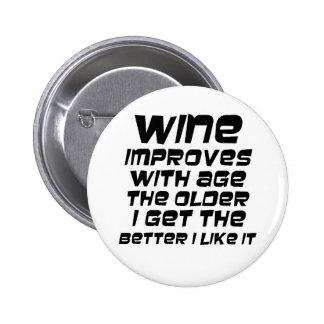 Os presentes engraçados das citações do vinho aume botons