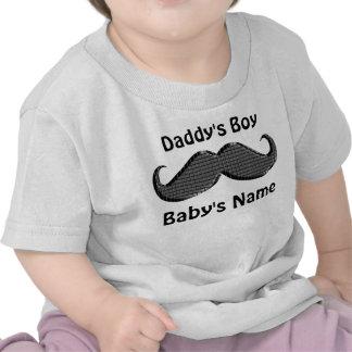 Os presentes personalizados do bebê do bigode pers tshirts
