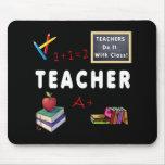 Os professores fazem-no com classe mousepads