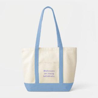 Os professores são indivíduos elegantes bolsa para compra