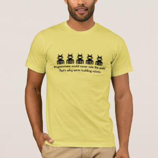Os programadores poderiam nunca ordenar o mundo… camiseta