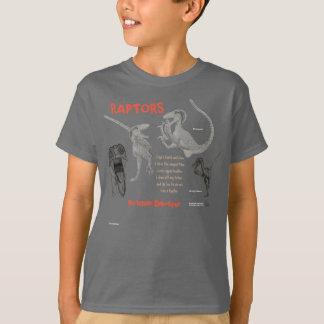 Os raptores meu dinossauro interno caçoam a camisa