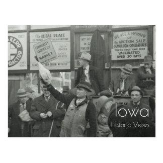 Os rebanhos animais 1936 vendem em hasta o cartão