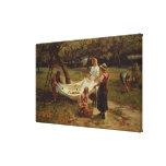 Os recolectores de Apple, 1880 Impressão Em Canvas