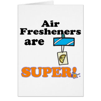 os refrogeradores de ar são super cartão comemorativo