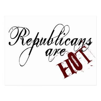 Os republicanos são cartão quente