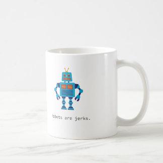 Os robôs são caneca dos empurrões