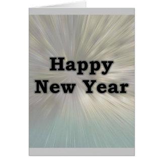 Os romanos de ano novo 15-13 cartão comemorativo