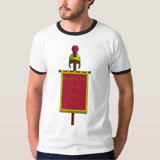 Os romanos sejam como homens camiseta