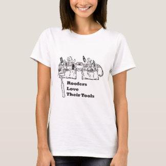 Os Roofers amam suas ferramentas T-shirt