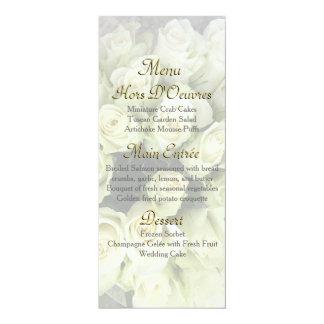Os rosas brancos que Wedding a série coram