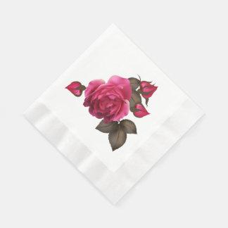 Os rosas do Victorian inventaram os guardanapo de