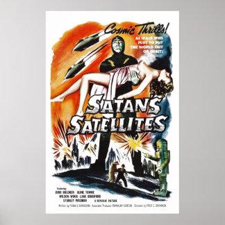 Os satélites da satã poster