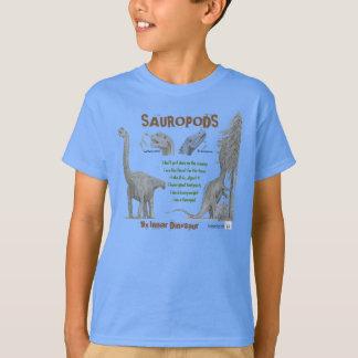 Os Sauropods meu dinossauro interno caçoam a T-shirt