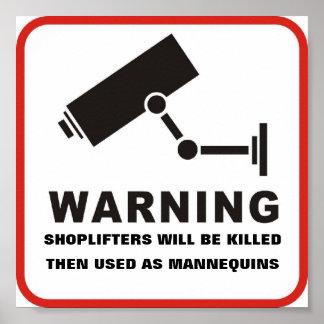 Os Shoplifters serão impressão matado
