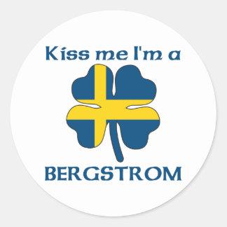Os sueco personalizados beijam-me que eu sou adesivo redondo