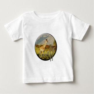 Os t-shirt das crianças do safari dos animais
