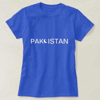 Os tanques dos pólos das camisetas de Paquistão