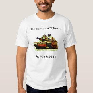 Os tanques são radicais camisetas