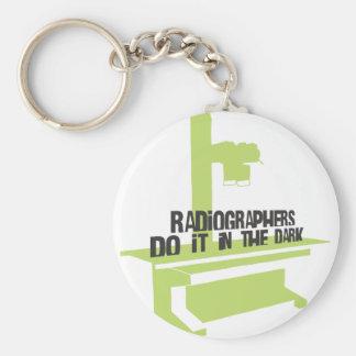 Os técnico de radiologia fazem-no no escuro (a suf chaveiro