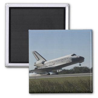 Os toques de Atlantis do vaivém espacial tragam 2 Ímã Quadrado