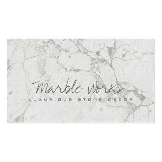 Os trabalhos/bancadas/monumentos de pedra de cartão de visita
