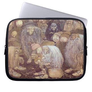 Os troll e o Tomte o mais novo Bolsas E Capas De Notebook