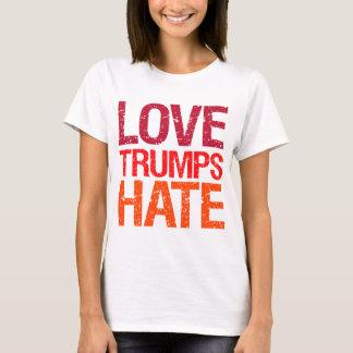 Os trunfos do amor deiam o anti trunfo camiseta