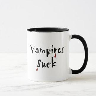 Os vampiros sugam a caneca
