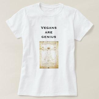 os Vegans de Da Vinci são gênio T-shirt