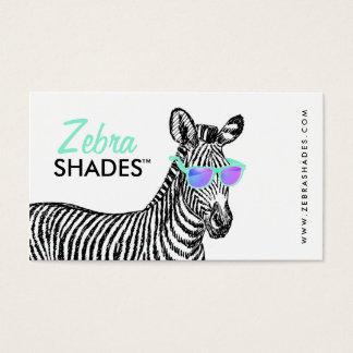 Os vidros na moda do esboço engraçado bonito cartão de visitas