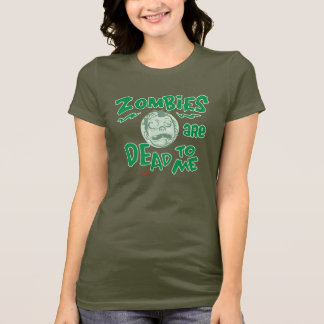 Os zombis estão inoperantes a mim camisa pelo