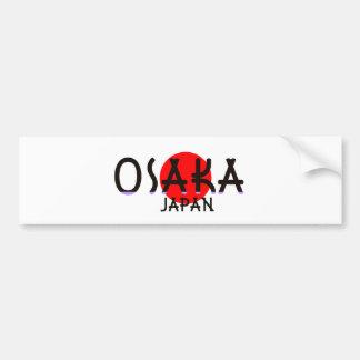 Osaka Japão Adesivo Para Carro