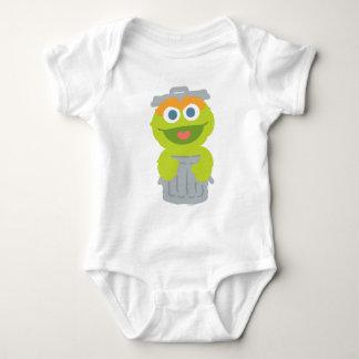 Oscar o bebê do Grouch Body Para Bebê