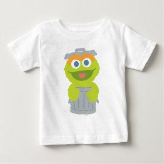 Oscar o bebê do Grouch Camiseta Para Bebê